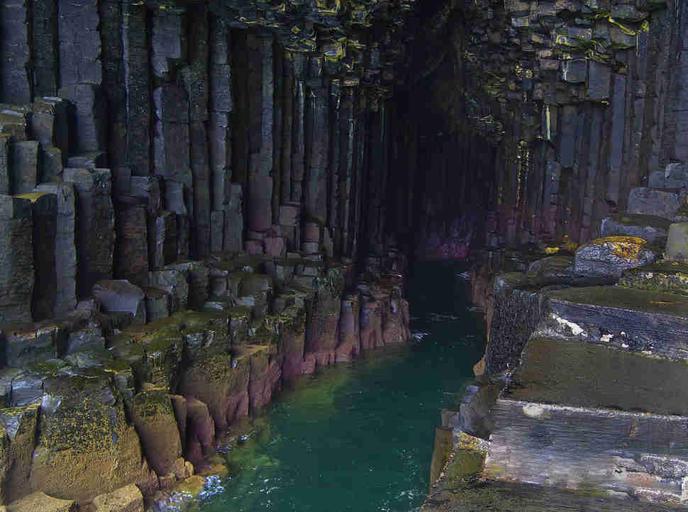 fingal's cave staff scotland