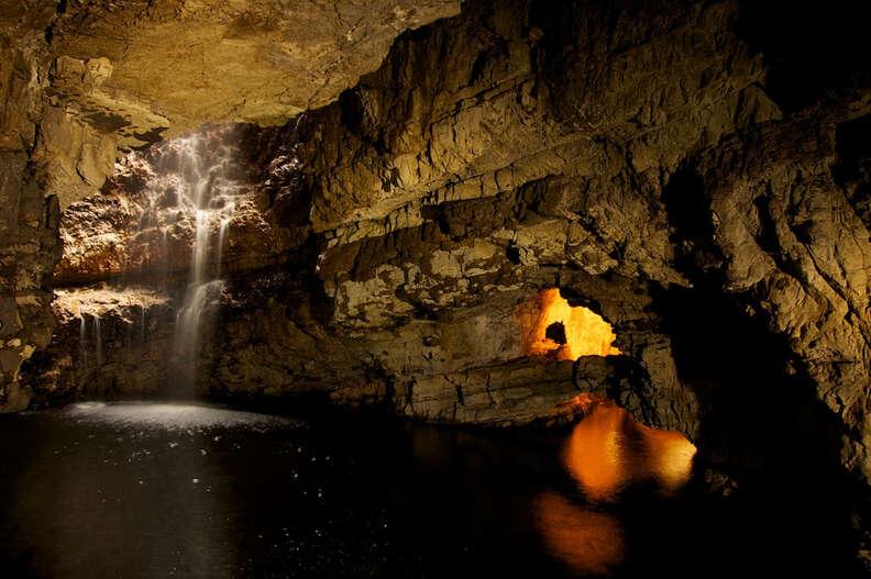 smoo cave durness scotland