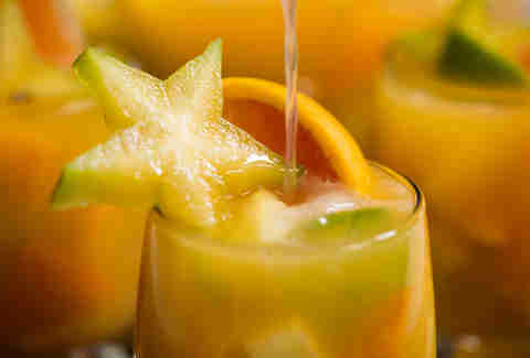 Tropical Punch with Tequila — Thrillist Recipes