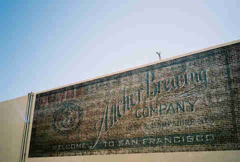 Anchor Brewing Company sign