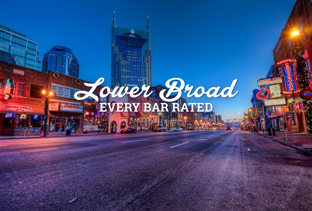 We Rated Every Bar On Lower Broad Lower Broadway Bars Rated