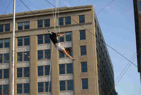 Trapeze lessons