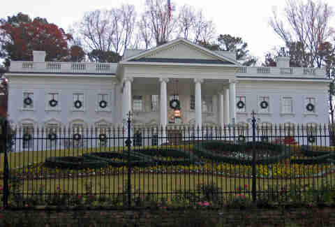 Replica of the White House