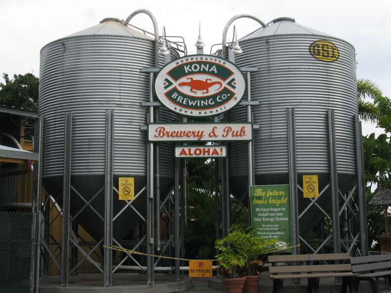 Kona Brewing Co. plant