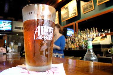 Abita Beer glass