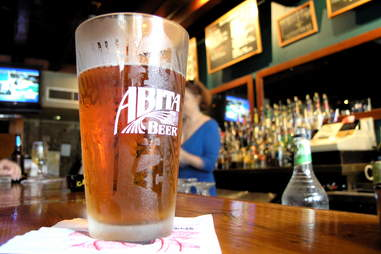 Abita Beer glass