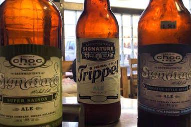 Choc Beer bottles