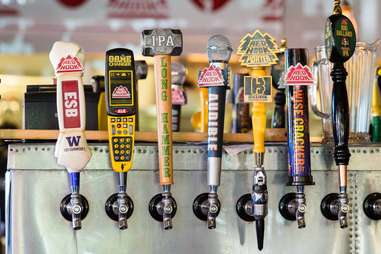 Redhook Ale Brewery taps