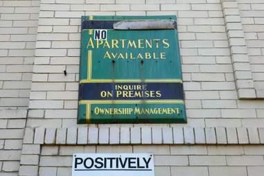 no apartments nyc
