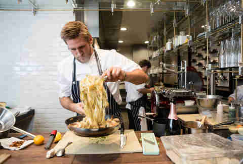 dinner with curtis stone