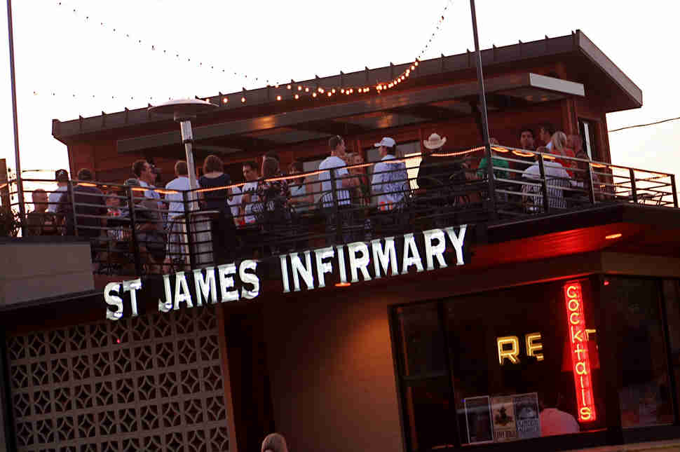 St James Infirmary Rooftop Bar