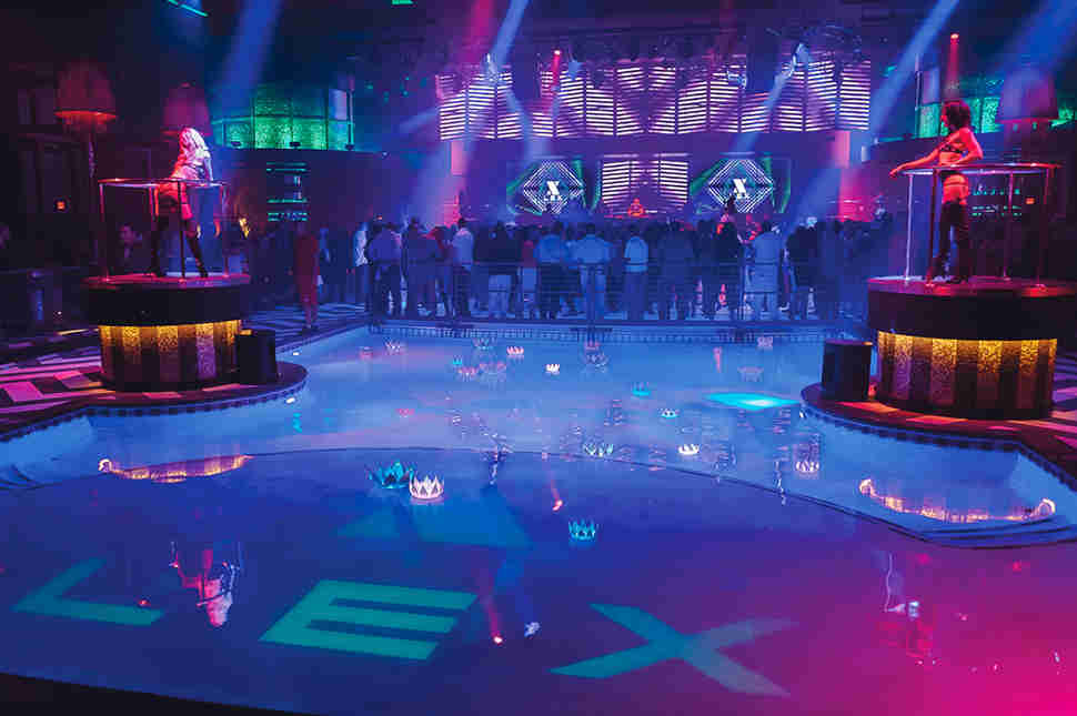 Lex Nightclub dance floor