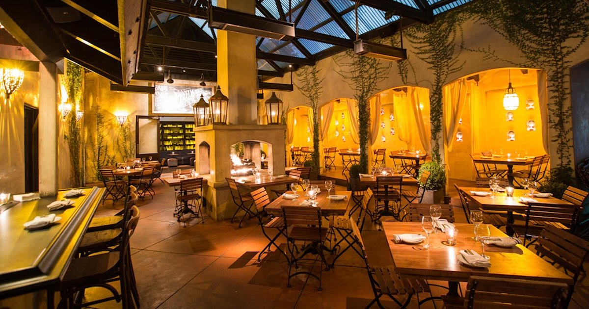 Most romantic restaurants in los angeles for a great la for Romantic restaurants in california