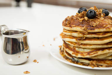 We've never had better blueberry pancakes; neither have you.