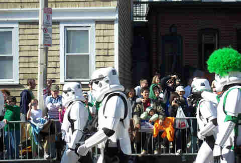 Stormtroopers on St. Patrick's, Boston
