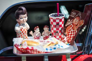 Big Boy collectibles and meal
