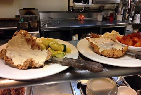 chicken fried steaks allgood cafe dallas