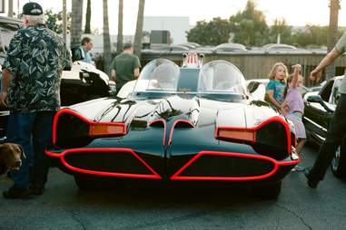 Batmobile at Big Boy