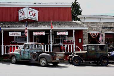 Outlaw Cafe in Virginia City, Montana