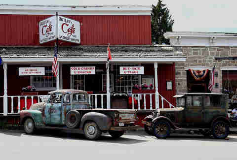 Outlaw Cafe in Virginia City, Montana