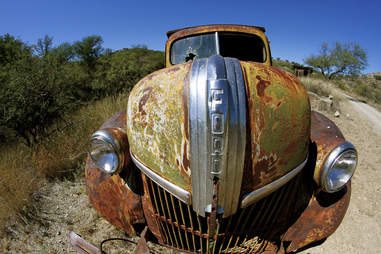 Old Ford in Ruby, Arizona