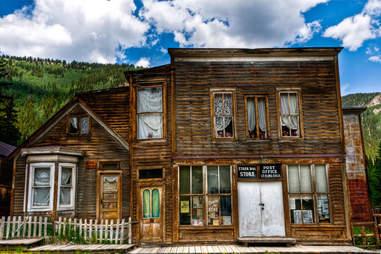 Storefront in St. Elmo, Colorado