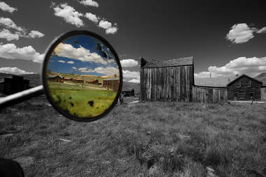 Reflection in Bodie, California