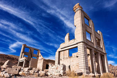 Ruins in Rhyolite, Nevada