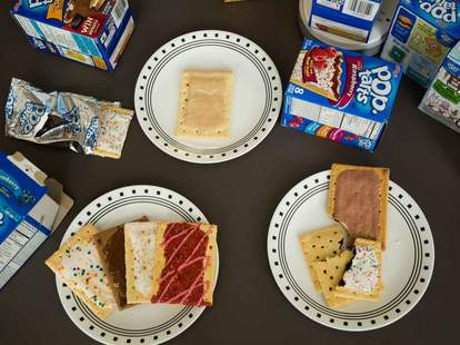pop-tart taste-test