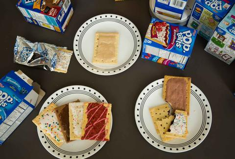 pop-tart taste-test