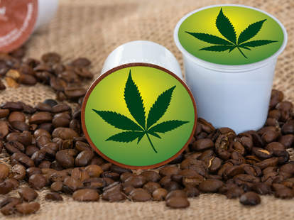 Weed coffee K-cups