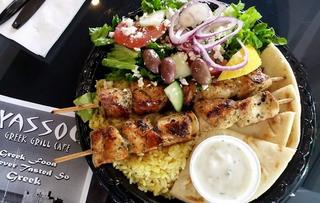Yassou Greek Grill Café