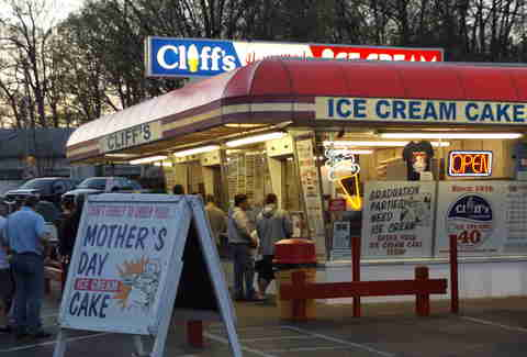 Cliff's Homemade Ice Cream