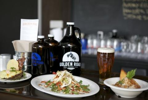golden road brewing los angeles pub food