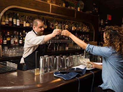 bartender cheers