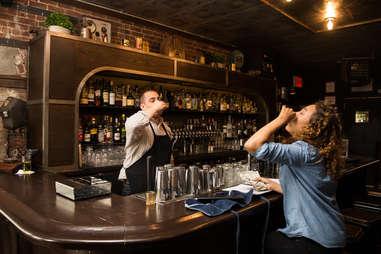 drinking waiters