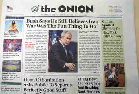 the onion george bush