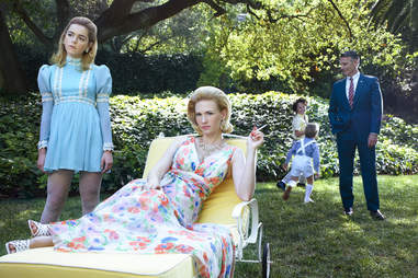 Sally and Betty from Mad Men