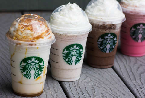 Starbucks Best Frappuccinos Secret Frappuccinos Thrillist