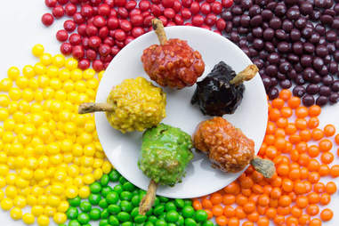 Skittles chicken wings