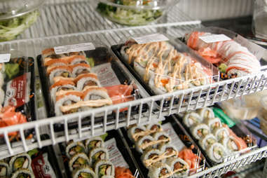 grocery store sushi