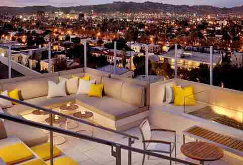 The Roof At Hotel Wilshire