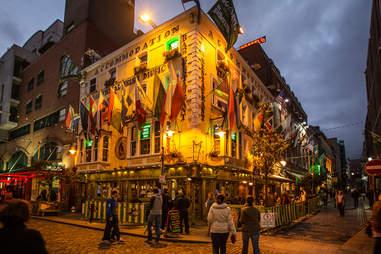 Irish street corner