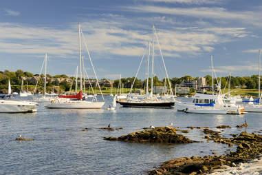 Rhode Island bay
