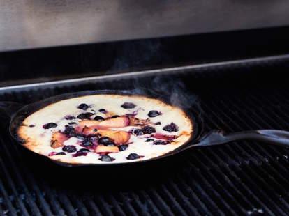 Grilled Fruit Cobbler — Thrillist Recipes