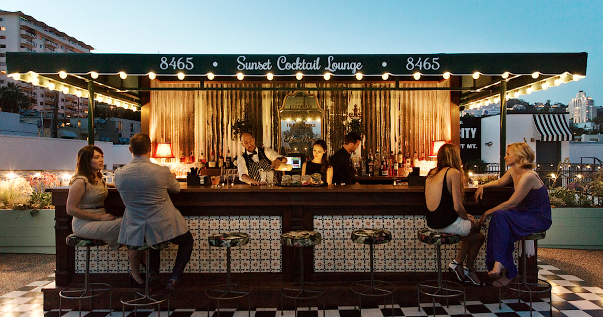 Best Rooftop Bars In Los Angeles Pools Patios Amp More