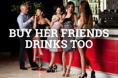 buy friends drinks
