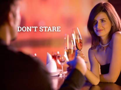 don't stare
