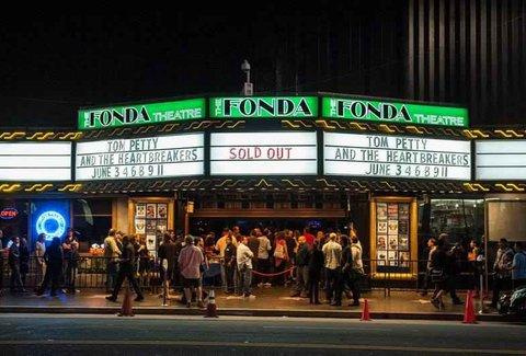 Fonda theatre los angeles