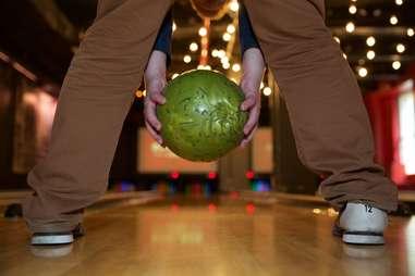 Ball between the legs